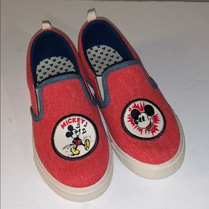 Mickey Mouse slip on shoes kids 13